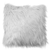 40x40 Faux Wol Fur Sarung Bantal Fluffy Soft Plush Lempar Bantal Kasus Home Decor