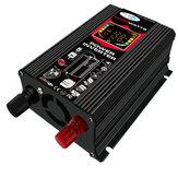 6000W 110V / 220V Coche Inversor de corriente Inversor de onda sinusoidal modificada con Colorful LCD Pantalla Ventilador de refrigeración Puertos USB duales