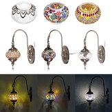Retro turco marroquí romántico pared luz hogar bar pasillo accesorio Lámpara decoración 110-240 V