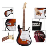 IRIN ST 38 Inch 6 Strings Electric Guitar with Guitar Bag/Strings/Rocker/Wrench/Picks/Strap/Cable