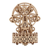 3D Wooden Ferris Wheel Puzzle Music Box DIY Assembly Toys Creative Gift