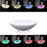 Portable Wireless bluetooth Speaker Smart Touch Sensor LED Night Light
