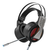 BlitzWolf® BW-GH1 Gaming Headphone 7.1 Surround Sound Bass RGB Game Headset avec micro pour ordinateur PC PS3/4 Gamer