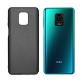 Bakeey Pudding Frosted Antichoc Ultra-mince Non-jaune Soft Étui de protection en TPU pour Xiaomi Redmi Note 9S / Redmi Note 9 Pro / Redmi Note 9 Pro Max