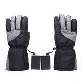 Rechargeable Women Men Electric Heated Gloves Motorcycle Warm Winter Motorbike
