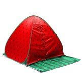 التخييمفيالهواءالطلق2-3الناس التلقائي خيمة المنبثقة ضد للماء UV شاطئ المظلة سندويتش المأوى