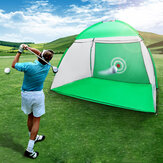 Indoor Outdoor Golf Practice Net Golf Hitting Cage Garden Grassland Practice Tent Golf Training Equipment