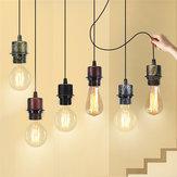 E27 Lampa sufitowa Uchwyt oprawka Podstawa Light Wiszące Oświetlenie Decor AC110-220V