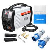 ANDELI ARC-250T AC220V 250A IGBT-omvormer DC-booglasmachine MMA-lasser voor lassen en elektrisch werken met accessoires