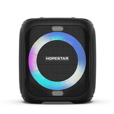 HOPESTAR PARTY100 50W Wireless bluetooth 5.0 Speaker with Microphone Portable Outdoor K Song Pole Music Center 10000mAh Battery Support AUX TF Card
