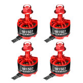 4X Racerstar Racing Edition 1507 BR1507 2800KV 2-4S Brushless Motor Für RC Drone FPV Racing Rahmen