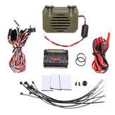 HG P402 P407 P601 P801 P802 1/10 1/12 قطع غيار سيارات RC العالمية WE8021 نظام صوت المحرك