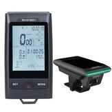 Shanrenワイヤレス大画面心拍数モニターGPS Bluetoothスピードセンサースマートバイクコンピューター260L