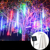 Waterproof Solar Powered 50cm 8 Tubes LED Meteor Shower Rain Garden Tree HoliDay Light