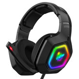 ONIKUMA K10 Game Headset RGB Light E-sports 3.5mm Stereo Sound Headphone with Mic for Computer PC Gamer