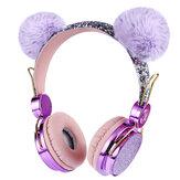 Unicorn Over-Ear Kulaklık Müzik HD Stereo Çağrı Kablolu Kulaklık Mikrofon ile