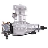 محرك بنزين DLE DLE20RA 20CC مفرد اسطوانة ثنائية الشوط للعادم الخلفي بتبريد يدوي مع أنبوب الإشعال والعادم لطائرة RC