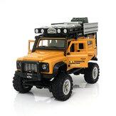 Original              SG 2801 1/28 2.4G 4WD Simulation Model RC Car Army Desert Alloy Climbing Off Road Vehicle Models
