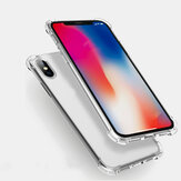 Multi-cores Air Cushion Corners Shockproof Transparent Soft Silicone TPU Caso para iPhone X