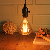 E27 40W G95 Warm White Diamond Retro Edison Lampadina AC220-240V