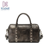 Kadell Women Rivet Tote Handbags Vintage Shoulder Messenger