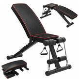 Adjustable Folding Sit Up Benches Abdominal Muscle Training Machine Utility Home Gym Fitness Equipment