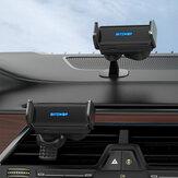 BlitzWolf BW-CF2 2 v 1 infračervený indukční inteligentní senzor Držák do auta s větráním/ palubní deskou pro 68-90 mm šířku telefonu Automatická podpora Držák do auta Držák do auta univerzální pro iPhone 13 POCO X3 F3 pro Samsung