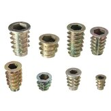 M4 M5 M6 M8 M10 Threaded Type D Wood Insert Nuts Alloy