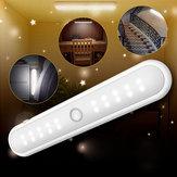 Taşınabilir Kablosuz 20 LED Kabine Gece Işık Hareket PIR Sensör Klozet Lamba Altında