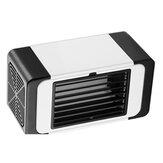 5V USB evaporativo portátil mini ar condicionado com ventilador umidificador refrigerador refrigerador