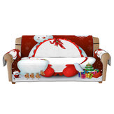 1/2/3 Seaters Christmas Sofa Mat 3D Printed Sofa Cover Slipcover Chair Protector Home Office Furniture Decorations