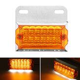 1PC 24V 15 LED Rear Side Marker Light Position Ground Lamp Truck Trailer Caravan Van