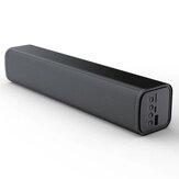 T-WOLF S9 مكبر صوت بلوتوث طويل بار 360 درجة صوت محيطي لاسلكي BT5.0 مكبر صوت للكمبيوتر للألعاب مكبر صوت لأجهزة الكمبيوتر / ذكي الهواتف / الأجهزة اللوح
