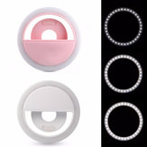 Selfie 36 USB LED Light Ring Flash Fill Clip Camera for iPhone for Samsung Mobile Phone