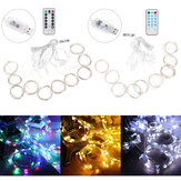 300 LED USB Рождественская строка Fairy Light Свадебное Xmas Party Decor Music Control