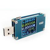 USBTesterСопротивлениеНапряжениеТекущееИзмерение энергии энергии Батарея Вместимость измерителя Type-C Цветной экран