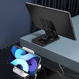 KAKU składany uchwyt na biurko ABS pod wieloma kątami regulowany uchwyt na tablet do telefonu komórkowego do Samsung Galaxy S21 POCO M3