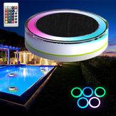 Control remoto de energía solar LED luz colorida Piscina Jardín lámpara flotante resistente al agua