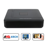 Hiseeu 4 8 Channel 720P 960P 1080P DVR AHD HVR NVR System P2P H.264 Segurança Home Camera Video Recorder