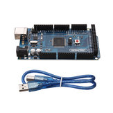 5Pcs MEGA 2560 R3 ATmega2560-16AU MEGA2560 Development Board With USB Cable Geekcreit for Arduino - products that work with official Arduino boards