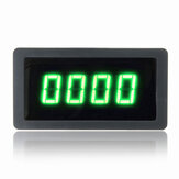 4 Digital Green LED Tachometer RPM Speed Meter With NPN Hall Proximity Switch Sensor