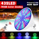 423LED 40W Cambiamento di colore LED Piscina Luce subacquea RGB remoto Lampadina apparecchio di controllo Pentair Hayward
