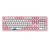AKKO 3108 V2 108 Key PBT Keycap Akko Pink Switch Type-C Wired Mechanical Gaming Keyboard
