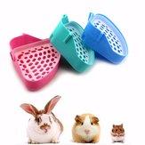 Ecktoilettenstreu Pipette für Tier Katze Kätzchen Kaninchen Hamster Meerschweinchen Toilette