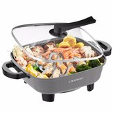 Liven DHG-558 Eletric Skillet 5.5L 1800W 5Gear Knob Control Hot Pot Non-Stick Pot from Ecological Chain