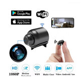 Beveiliging IP-camera 1080P160 graden Nachtzicht Audio-opname Draadloze WIFI Mini-camera Google Play