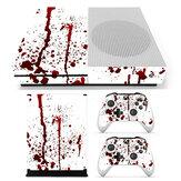 Stickers autocollants Bloody Skin pour Xbox One S Console de jeux et 2 contrôleurs