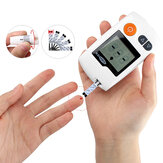 Glucometer Medical Blood Glucose Meter Blood Sugar Monitor Diabetes Tester with 50Pcs Test Strips and Lancets Needles