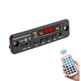 3Pcs  5V Bluetooth 5.0 MP3 Decoder LED Spectrum Display APE Lossless Decoding TWS Support FM USB AUX EQ Car Accessories