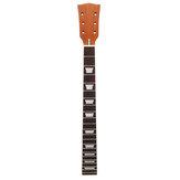 Muspor 22 trastes Guitarra eléctrica Cuello 24.5 Inch Guitarra de caoba Cuello Diapasón de palisandro para reemplazo de guitarras Gibson Les Paul LP